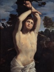 'Saint Sebastian' - Guido Reni, 1615, currently at Palazzo Russo in Genoa.